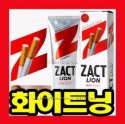 Отбеливающая зубная паста Lion Zact Супер-предложение