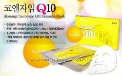 Тканевые маски для лица, эффект сразу BIOMING Coenzyme Q10 Essence mask pack