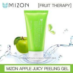 Mizon Apple Juicy Peeling Gel нежный пилинг-скатка для очищения