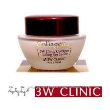 Подтягивающий крем для кожи вокруг глаз с коллагеном от 3W CLINIC COLLAGEN