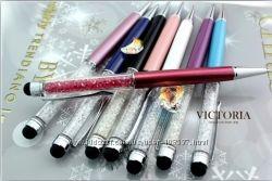 Эксклюзивные ручки-стилусы с кристаллами Swarovski. Низкие цены