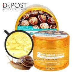 Гипоаллергенный улиточный гидро-гель Dr. Post Snail Collagen Aquaring Gel