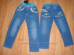 Подростковые штаны джинсы для мальчика. Пояс на резинке. Венгрия.