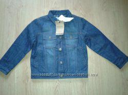 Утепленная джинсовая куртка Mayoral