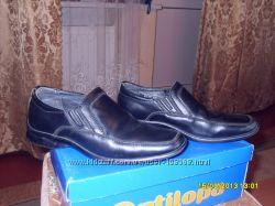 Кожанные туфельки фирмы Antilopa