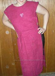 Платье-полотенце махровое двустороннее Хлопок 100