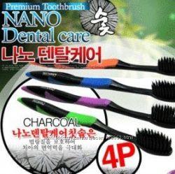Зубные щетки Nano Dental Care угольные