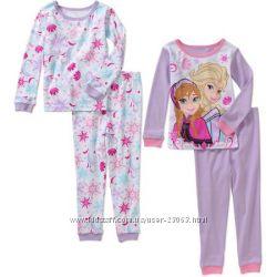 Пижамки DISNEY, BabyGAP, CARTERS, FADED GLORY, CHILDRENS PLACE оригинал