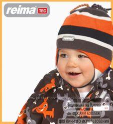 РеймаТЕК зима термокомбинезон раздельный  - оранжевые Собачки 86р
