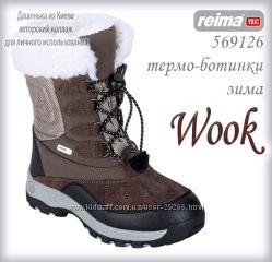 Рейма ТЕК зима термо ботинки высокие р 28, 30, 31