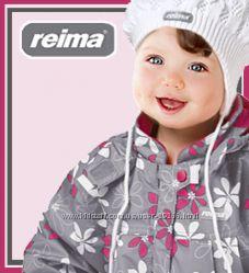 Рейма демисезонная  милая цветочная курточка размер 86 большемерит