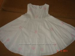 Очень нежное летнее платьеце Erly Days 1, 5-2 года  реально до 3-х лет