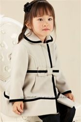 Пальто некст на девочку 3-4 и 4-5 лет в наличии