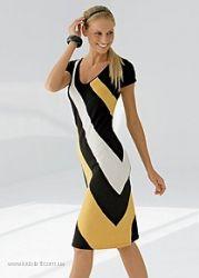 Элегантное платье р. 10 англ. новое. Дешево