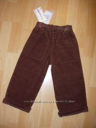 Новы вельветовые брюки Амадео 92р идет на 98р