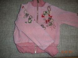 курточка р. 110-114 на девочку беретик в подарок