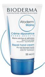 Восстанавливающий крем для рук Биодерма Атодерм, оригинал, 90 отзывов
