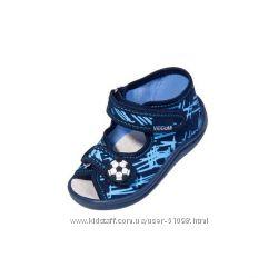 Босоножки-тапочки тканевые с кожаной стелькой TM Viggami