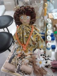 авторская тряпичная кукла