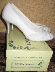 Свадебные туфли по стельке 25, 5см