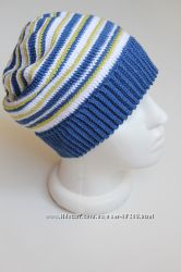 Весенняя демисезон шапка-чулок для мальчика