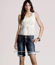 Женские джинсовые  капри-бриджи от H&M