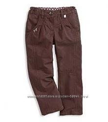 джинсы, брюки хлопковые, спортивные штаны для девочек от H&M , C&A