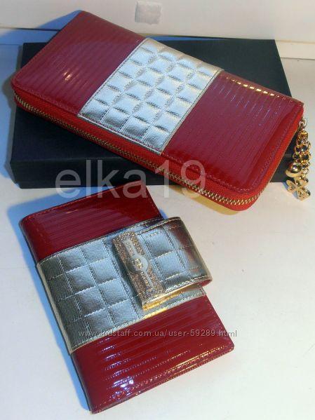 Шикарные красные кошелечки и обложки SONIA RYKIEL