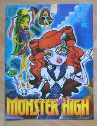 Алмазная Живопись и Monster High Монстр Хай раскраски. Мелки для волос