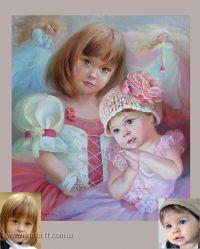 Нарисую картину с портретом Вашего ребенка