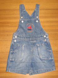 4 полукомбеза-песочника и джинсовый пиджачок