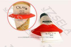 Пресс зубной пасты держатель тюбика и щеток в наличии