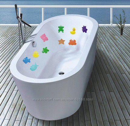 Антискользящие мини коврики для ванной