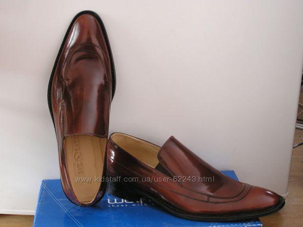 Мужские, кожаные туфли, Турция