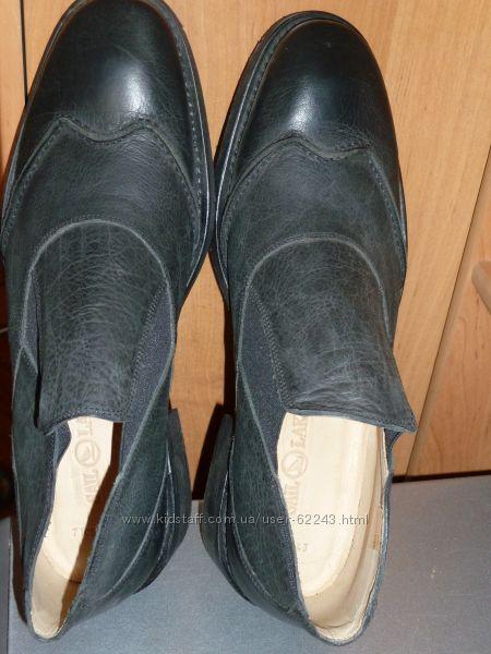 Мужские кожаные ботинки, Турция