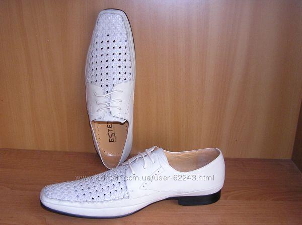 Кожаные дышащие  туфли