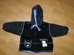 Курточка велюровая  деми 86-98