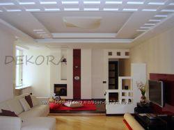 Дизайн потолков и гипсокартонных конструкций