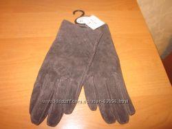 Кожаные перчатки Matalan ONE SIZE новые с биркой