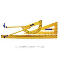 Набор измерительных принадлежностей для школьной доски