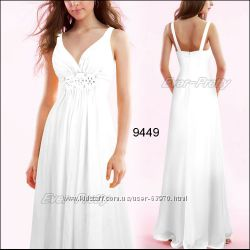 Вечернее белое платье  чарующая нежность и романтика