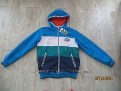 Демисезонная двухсторонняя куртка р 122-128