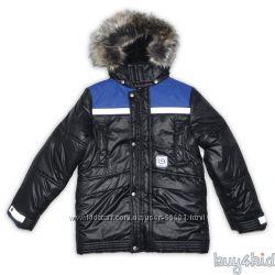 Куртка Ленне на мальчика яркая и стильная р140-170
