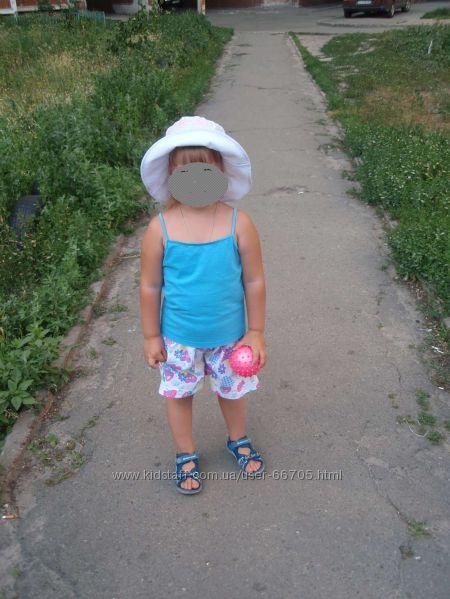 маечки на весну под свитр и на лето девочке на рост 92-100см брендовые