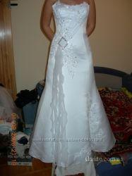 Свадебное платье формы Рыбка