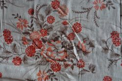 Ткань портьерная лёнхлопок