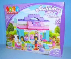 Новинка от JDLT Конструктор для девочек Модный дом