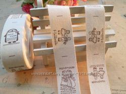 Ленты-бирки-ярлыки handmade