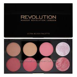 Палитры румян от Revolution makeup