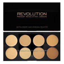 Палитры консилеров от Revolution makeup